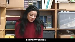 ShopLyfter - Hot Sneaky Teen Gets Humiliated For Stealing