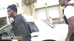 BANGBROS - Big Black Dick Wieldin' Cops Fuck Kiki Parker
