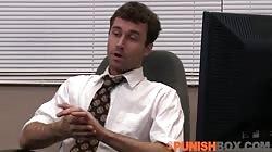 Punishbox - Skin Diamond gets punished at the office