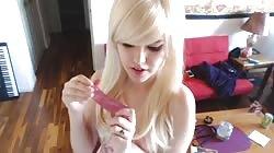 Ryden Armani: Blonde Babe Jerk Off Instruction