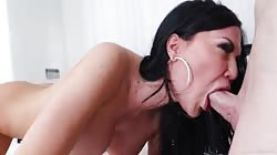 Young Man Very Shy When Stepmother Jasmine Jae Sucked His Cock