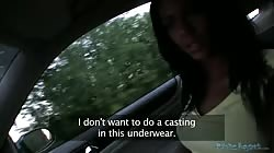 PublicAgent Slutty Czech Girl Fucks on Public for Money